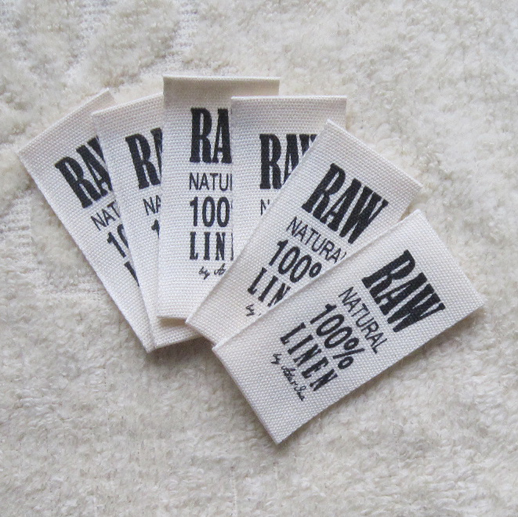 Organic Cotton Printed Labels