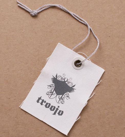 Custom Canvas Hang Tag