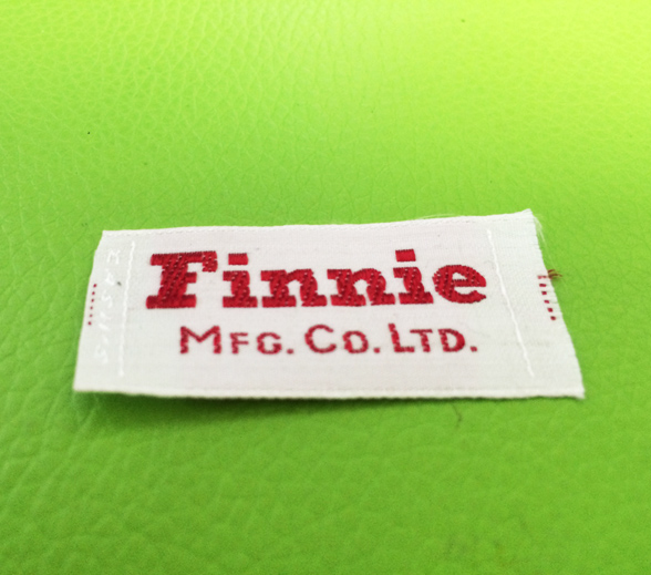 Finnie Shuttle Loom Clothing Woven Label