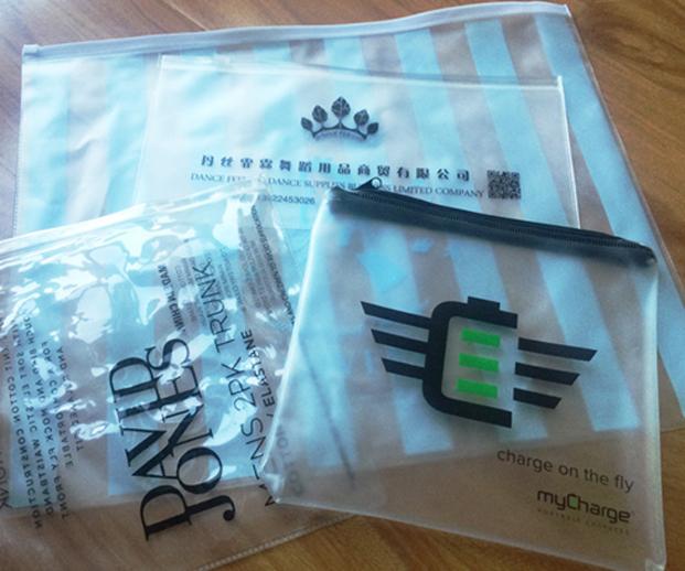 Custom Printed PVC Bags