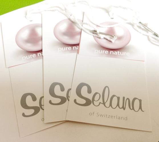 Selana of Switzerland Clothing Hang Tags