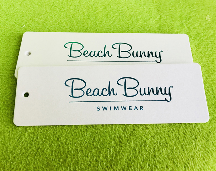 Beach Bunny Swimwear Hang Tags