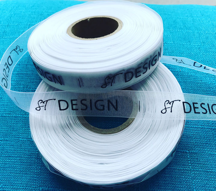ST Design Organza Labels For Clothing