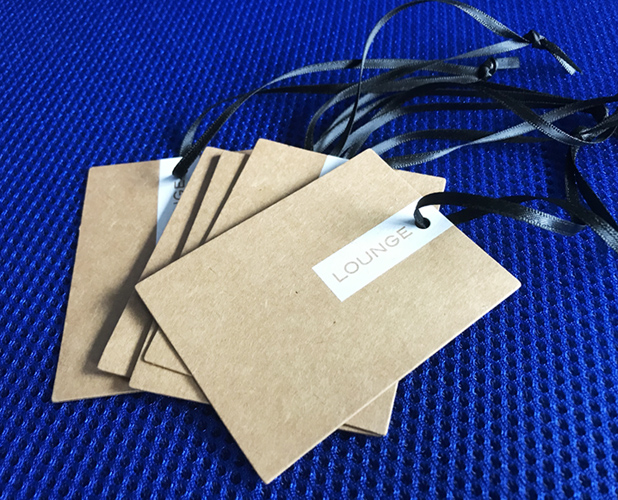 Custom Recycled Paper Hang Tags